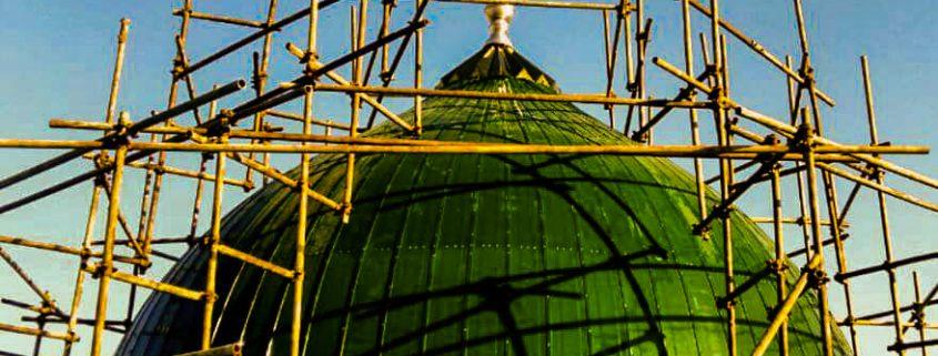 گنبد سبز مدل مسجدالنبی